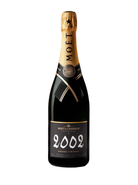 MOËT GRAND VINTAGE COLLECTION 2002